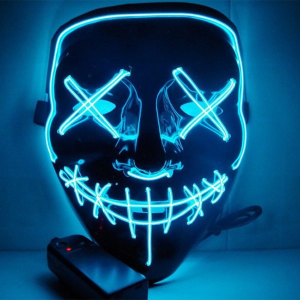 Purge Mask Led Blue