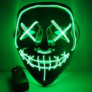 led purge mask green