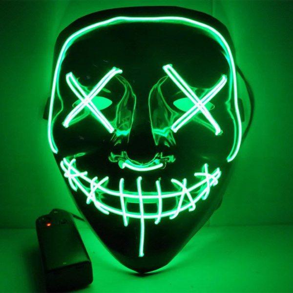 led purge mask green