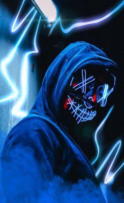 led purge mask wallpaper