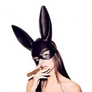 Purge Black Rabbit Mask