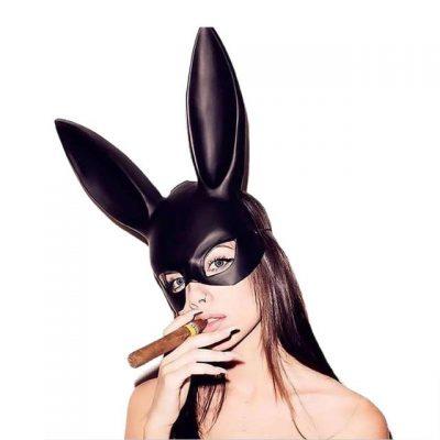 Purge Black Rabbit Mask