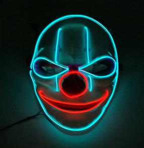 Purge Led Mask Halloween Clown