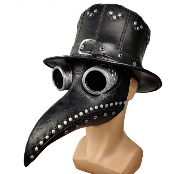 Black Plague Mask