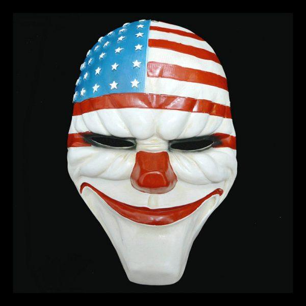 Payday 2 Masks American Flag