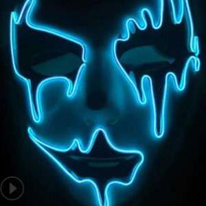 Purge Led Mask Ghost Blue