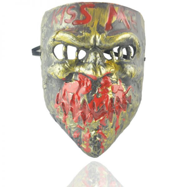 Purge Election Year Kiss Me Mask Girl