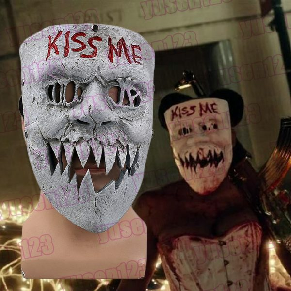 Kiss Me Purge Mask Movie from the purge election year film