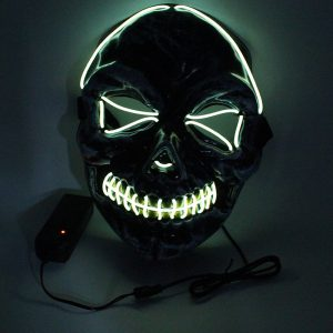 Purge Light Up Masks Skull
