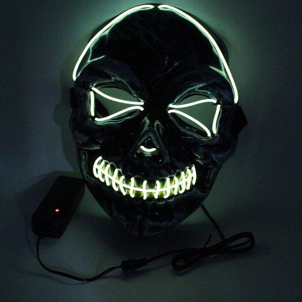 Purge Light Up Masks Skull