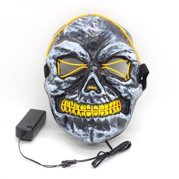 Purge Light Up Masks Skull remote controller