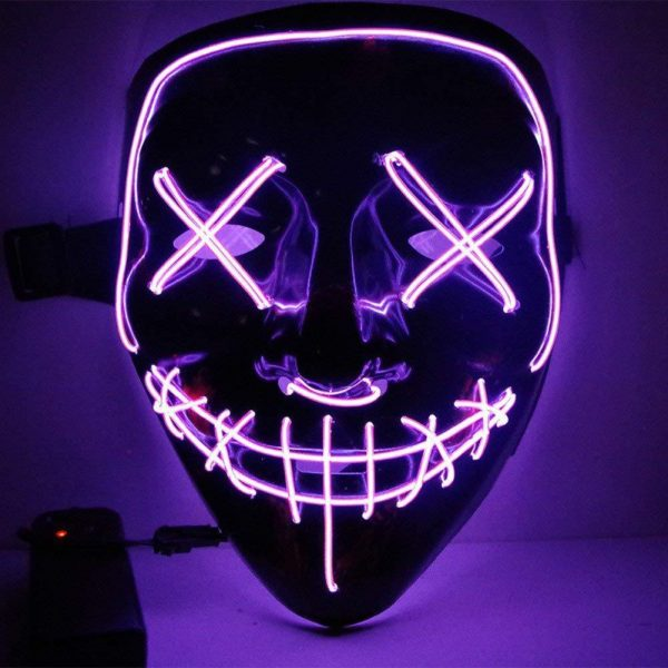 Purple Led Purge Mask