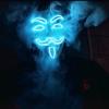 V Is For Vendetta Mask that light up blue