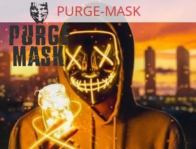 Yellow Led Purge Mask radiance light