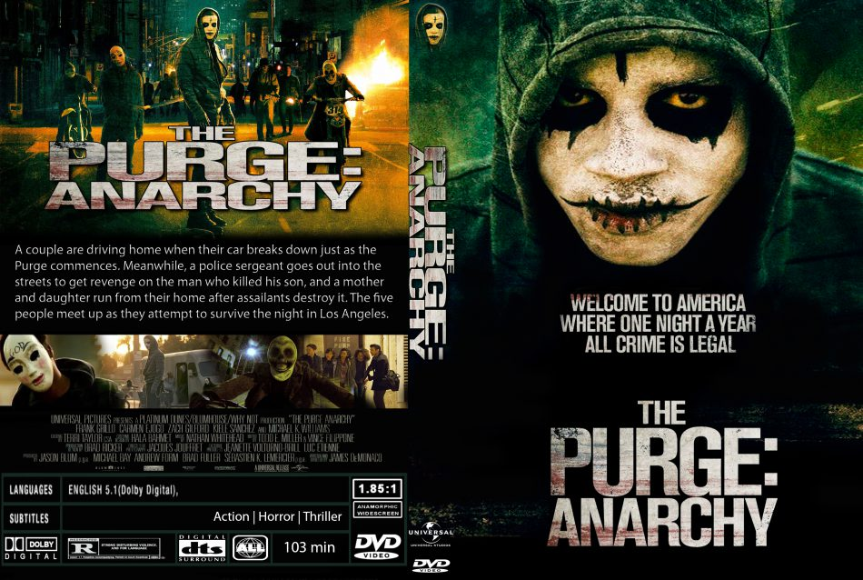 cross purge mask dvd movie