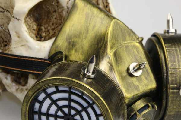 details of the gas mask for the purge