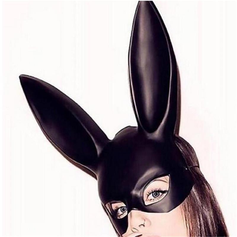 Purge Black Rabbit Mask For Women