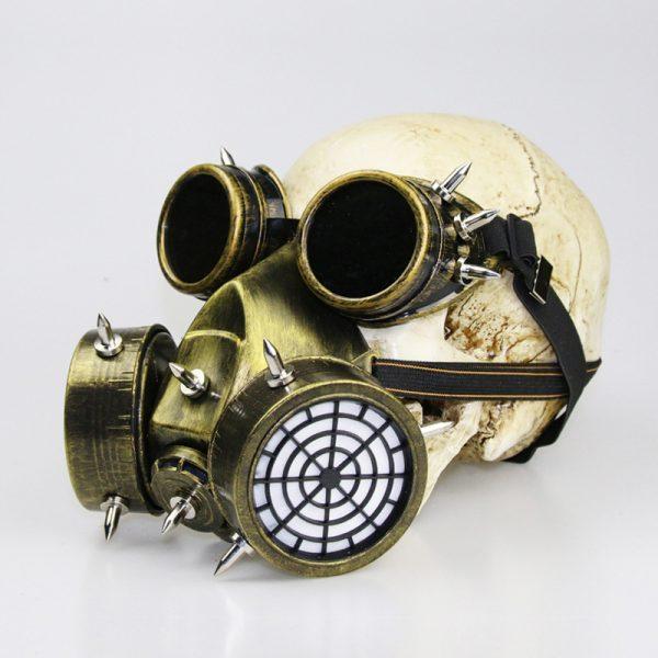 gold purge gas mask