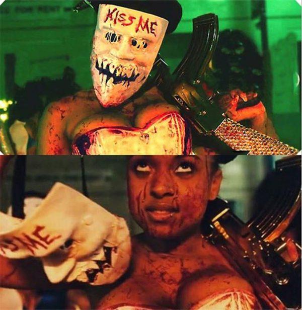 kiss me purge mask cheap