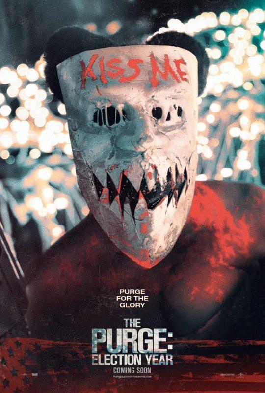 kiss me purge mask wallpaper