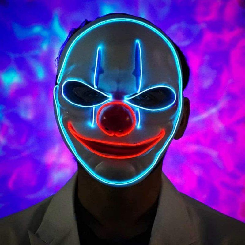 led purge mask before halloween