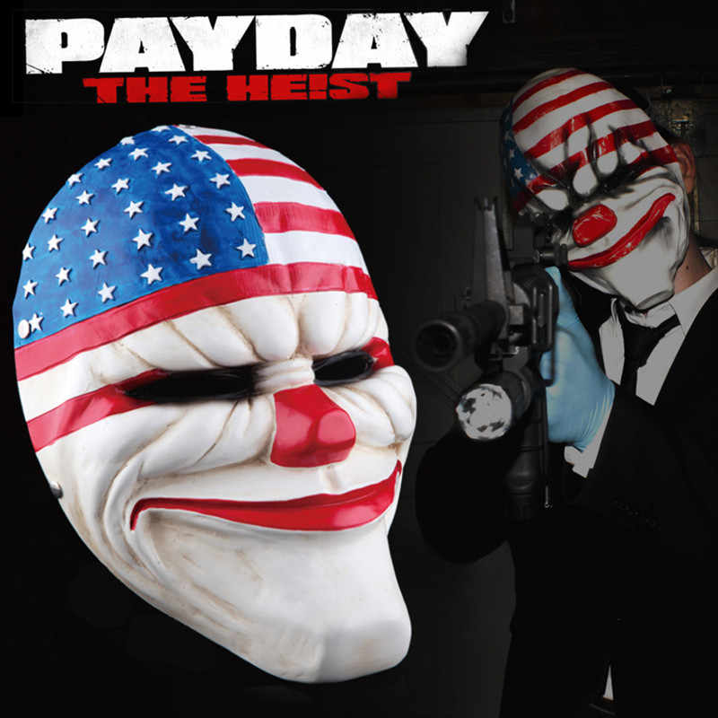 payday the heist purge mask