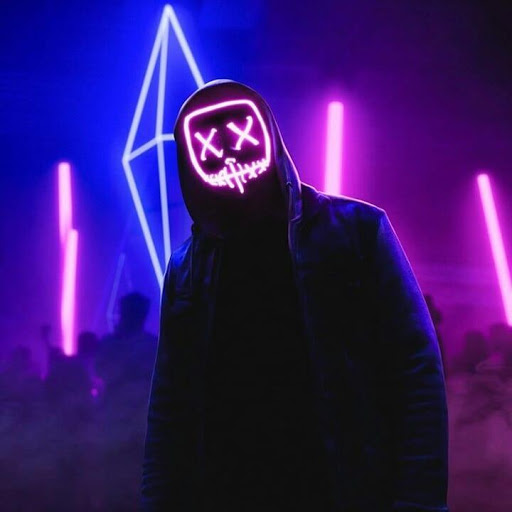 purple led purge mask wallpaper
