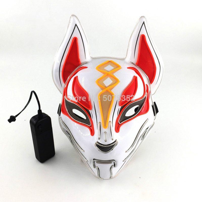 Purge Mask Led Red Kitsune As In Fortnite