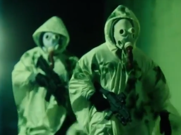 the first purge gas mask costume