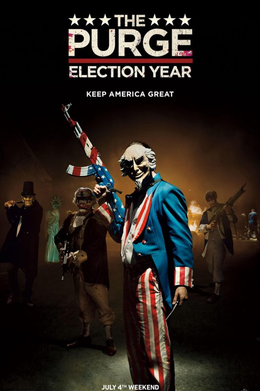 the purge 3 for the 4th july 2016
