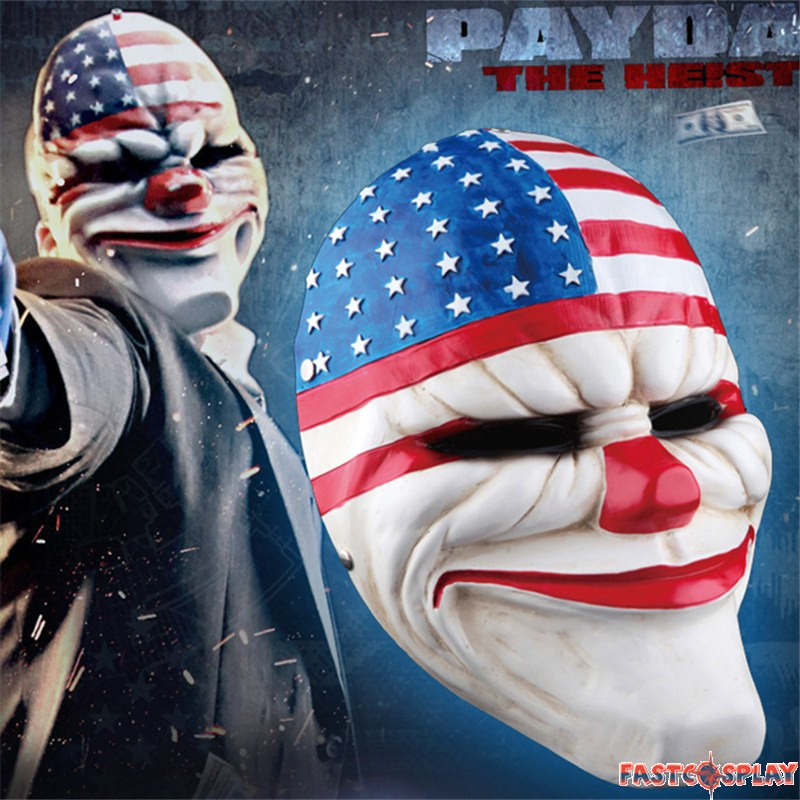 The Purge Election Year American Flag Purge Payday Mask