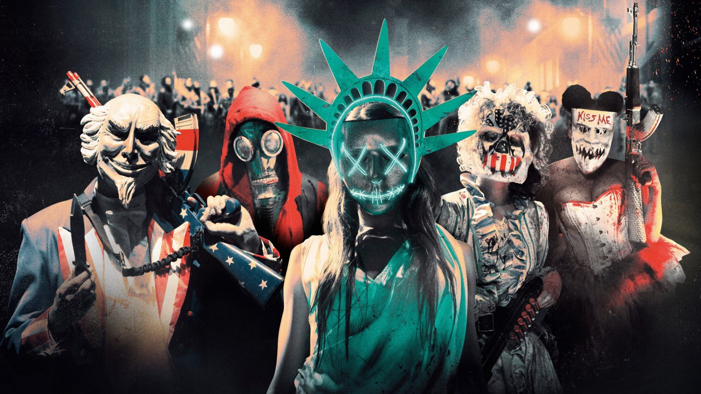 the purge election year gas mask