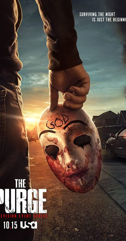 the waving god purge mask movie wallpaper