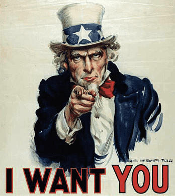 uncle sam i want you in us army