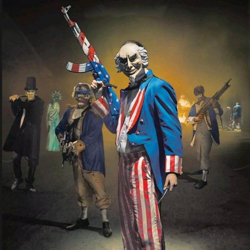 Purge Election Year Mask Uncle Sam Purge Mask